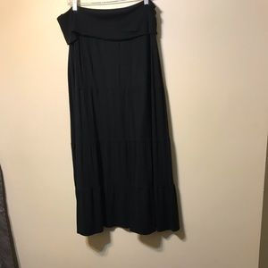 Chico's black size 2 maxi skirt